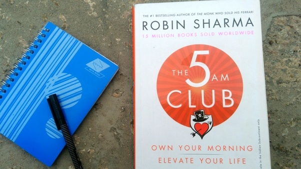 What is your review about Robin Sharma's new book, The 5AM