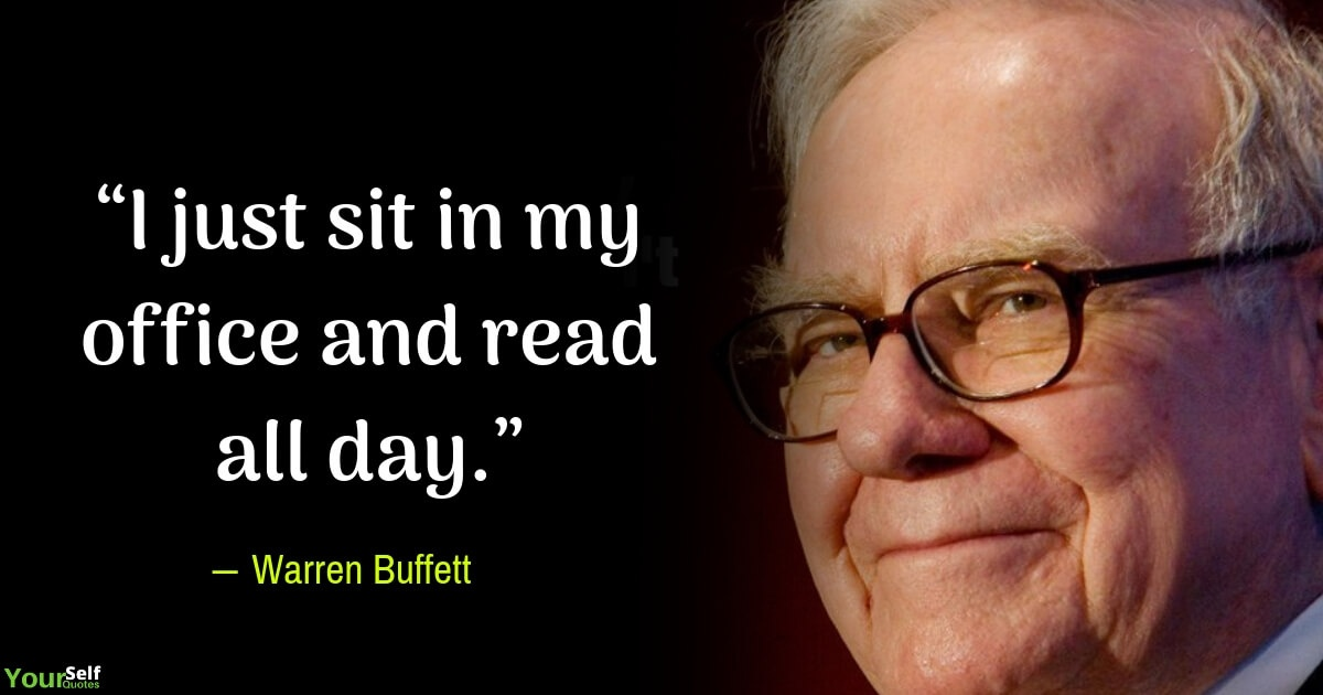 Does Warren Buffett's advice on reading books work? - Quora