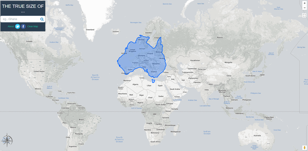 Does europe fit in australia quora use this tool to compare country sizes compare countries with this simple tool gumiabroncs Gallery