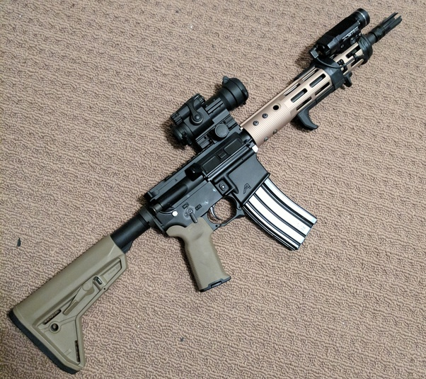 If You Re American And Don T Wanna Deal With The Atf Of Getting An Sbr Can Either Get A Pistol Configuration Or 14