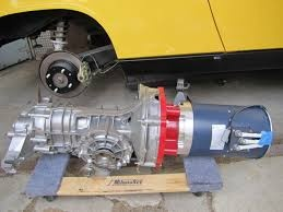 But A Nissan Leaf Complete Drive Train From Wreck Would Be Er