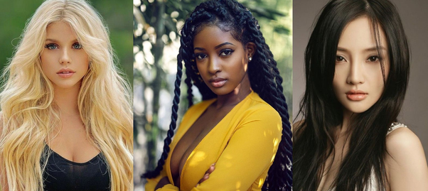 Most beautiful race of women