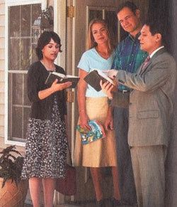 What Do Jehovah Witnesses Want When They Come To Your Door