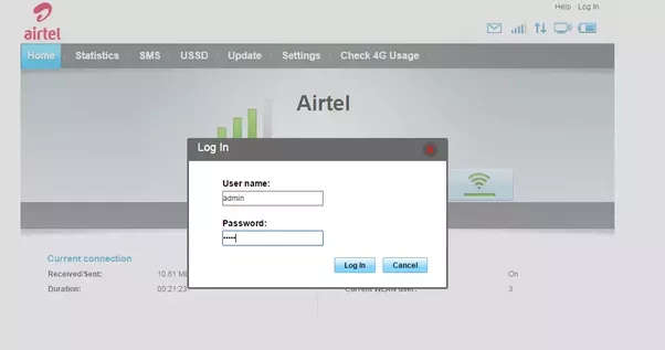 how to change wifi username and password