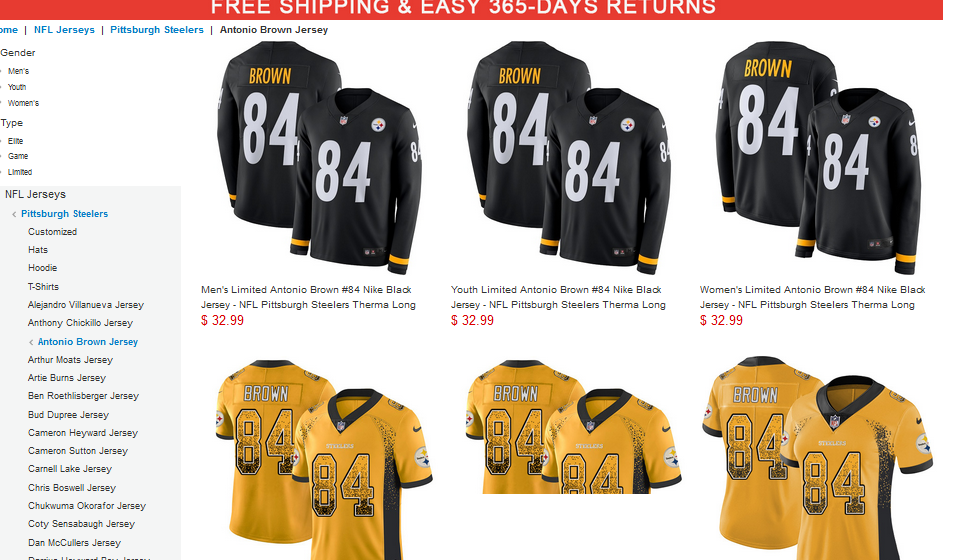 Why are official NFL jerseys so expensive  - Quora 660249954