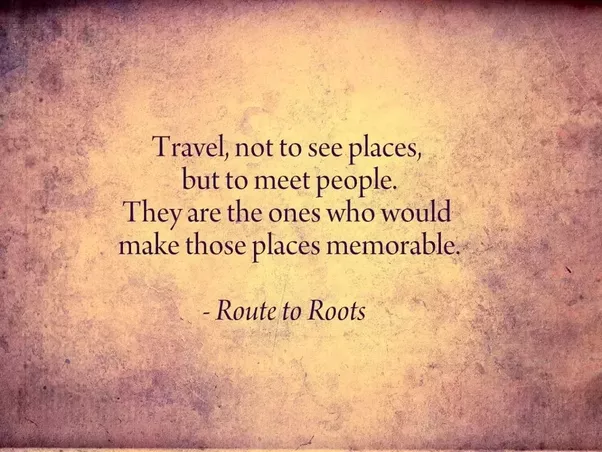 If A Man Travels To See You
