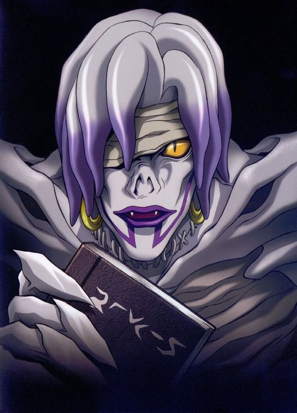 anime shinigami note Death