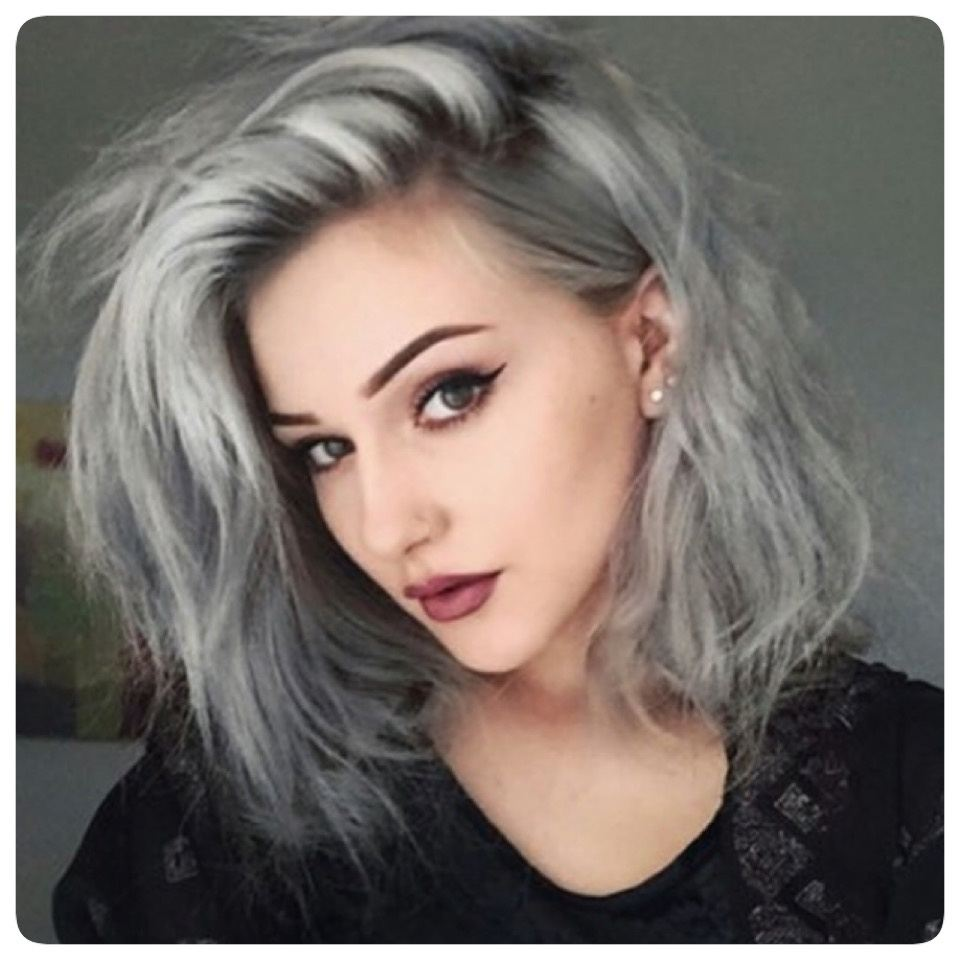 I want to dye my hair silver/gray, my hair has a dirty