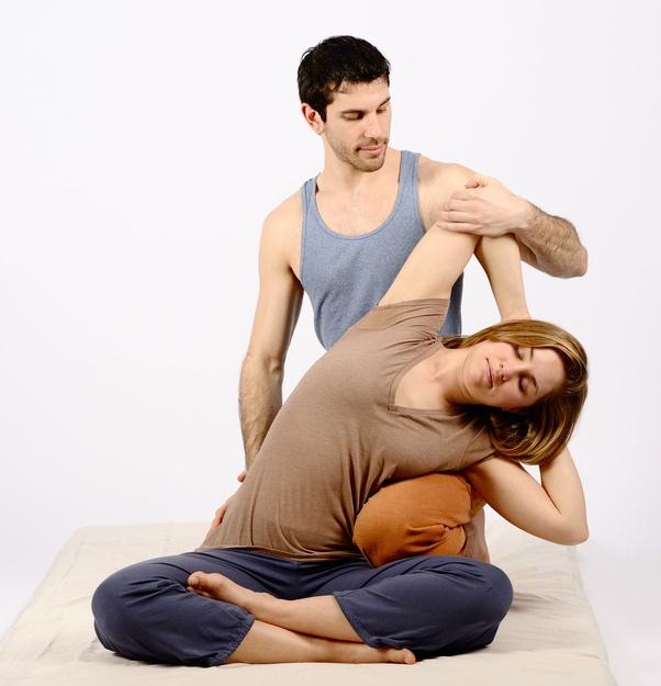 Sex at massage place