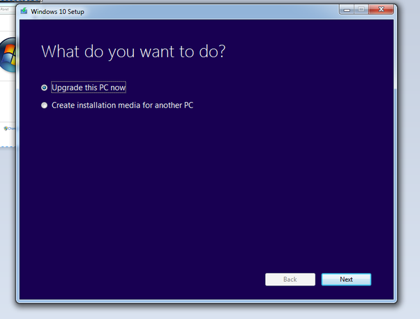 when i quit in the middle of a windows 10 installation
