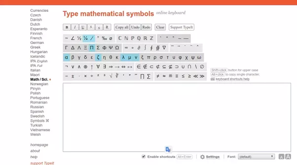 How To Easily Write With Mouse Or Type Mathematics On A Laptop Quora