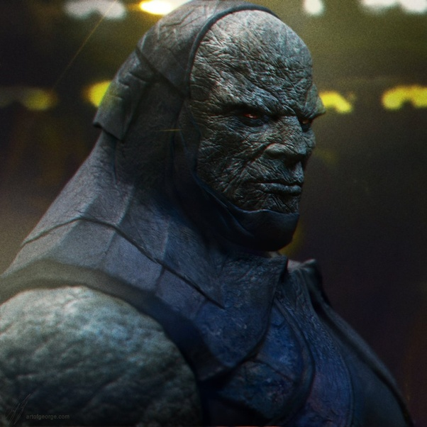 Who is the ultimate boss villain in DC comics like Marvel's