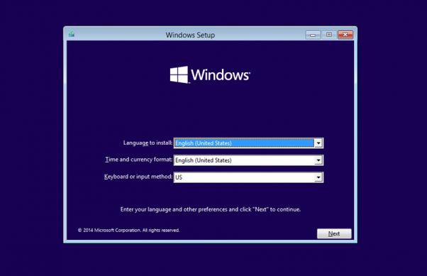 How to install windows 10 in my Asus laptop with free DOS