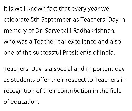 What Are The Most Inspiring Teachers Day Speech To Give As A