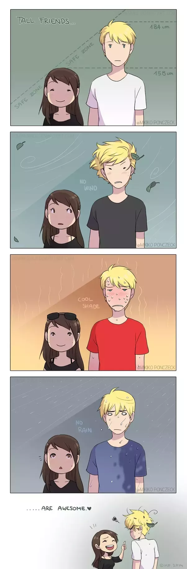 Advantages of dating a tall boy