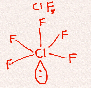 What Is The Hybridization Of The Central Atom In Clf5 Quora