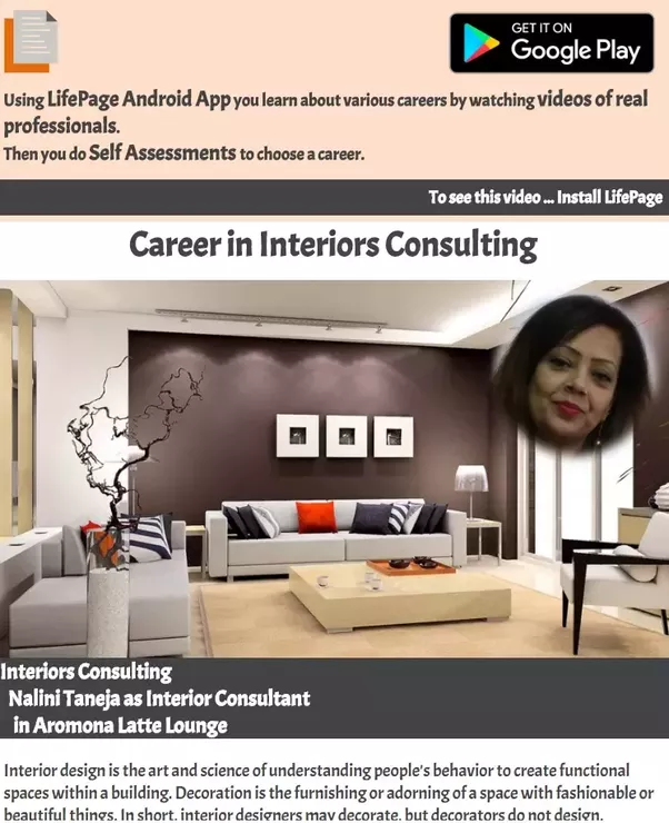 How to choose the best interior designer quora and then you can watch the video and after watching the video you can do the self assessment asses yourself to know how good an interior you will be solutioingenieria Choice Image