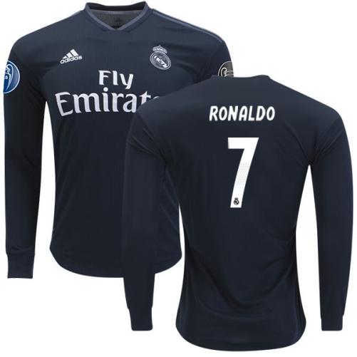... Cristiano Ronaldo Dark Navy Away Jersey Adidas Long Sleeve Shirt. I  usually order jerseys from thetopsoccer .com now. e87c88c71