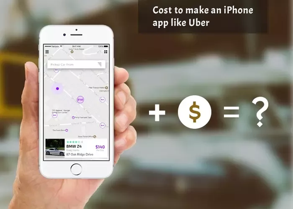 How much does it cost to build an app like Uber for iOS or Android