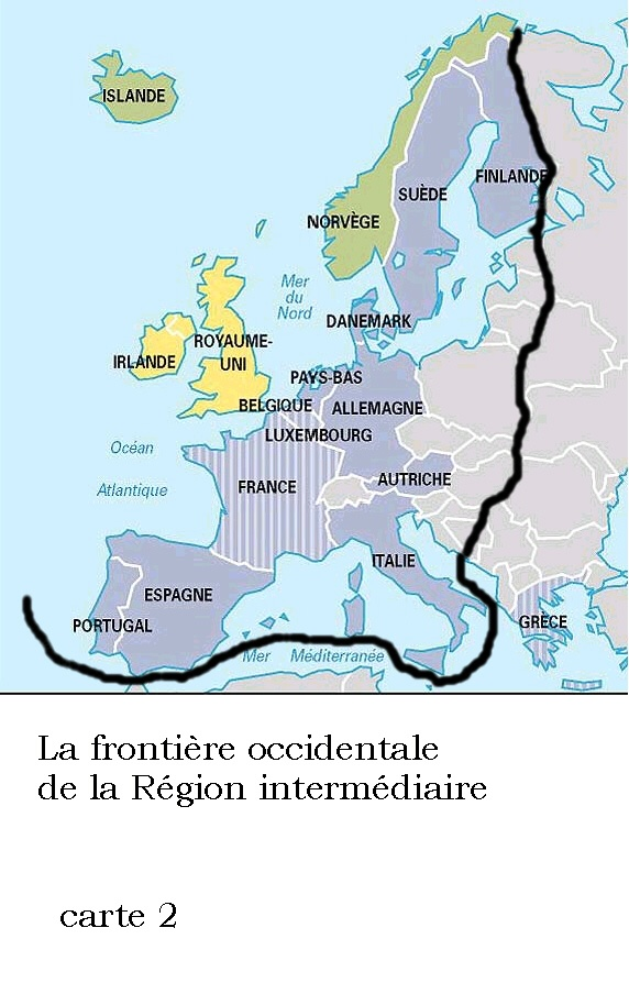Carte Europe West.How Many Countries Are In Western Europe Quora