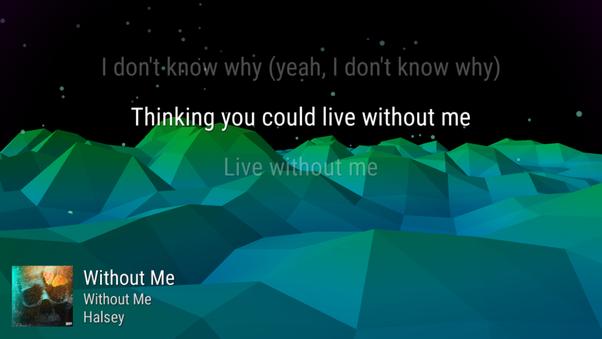 Which music app gives lyrics? - Quora