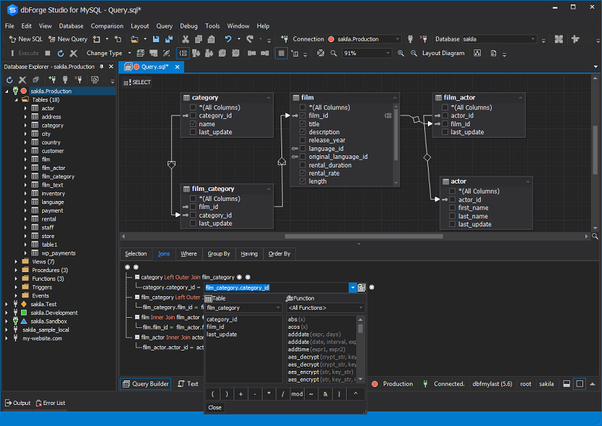 What is the best/top IDE for MySQL? - Quora