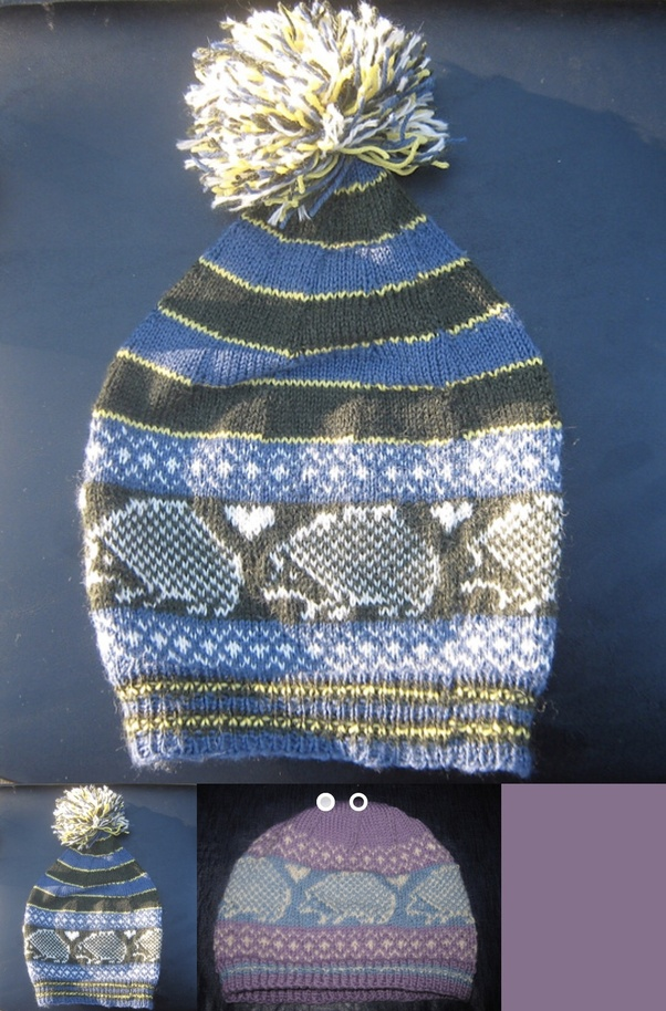 Where could I find a free hedgehog hat (beanie) knitting pattern ... 7d227874141