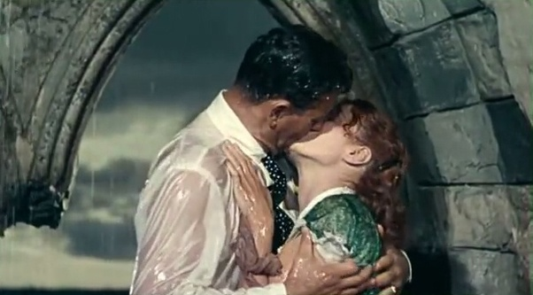 Scenes romantic movies kissing Movies With