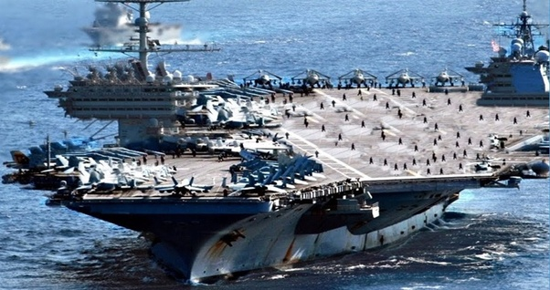 What's bigger: an Aircraft carrier or the biggest cruise