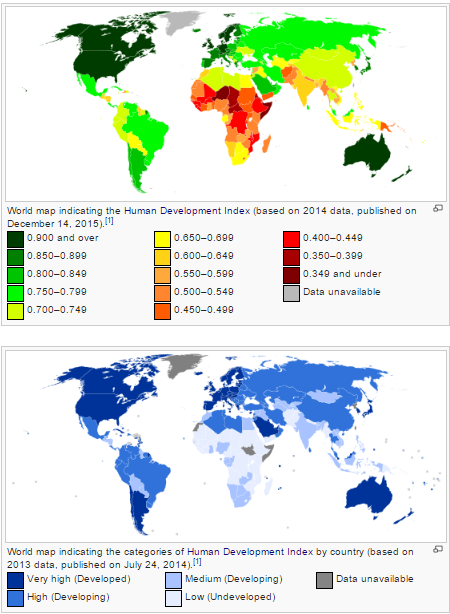 What 3rd world country is almost a 2nd world country quora world maps indicating human development index source wikipedia gumiabroncs Gallery