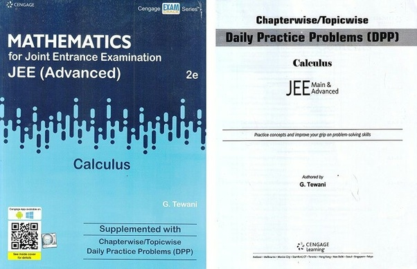 Which is the best book for calculus for JEE Advanced? - Quora