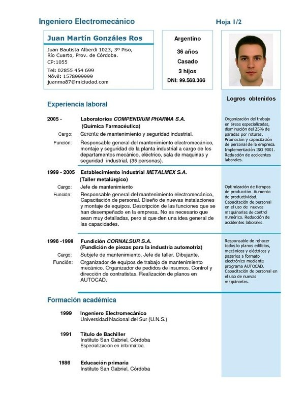 what is the effect of template selection in cv or resume  share your template
