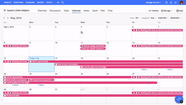 is there a good calendar or project management software for