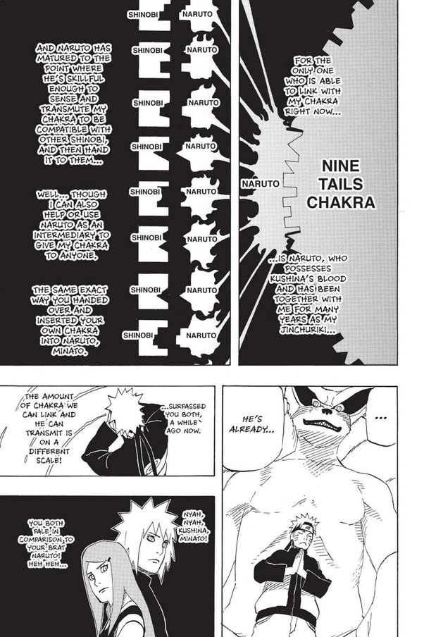 Is Sasuke technically much stronger than Naruto, knowing