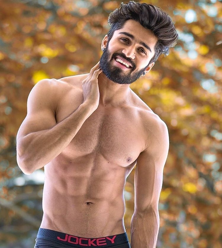 South asian men hairy