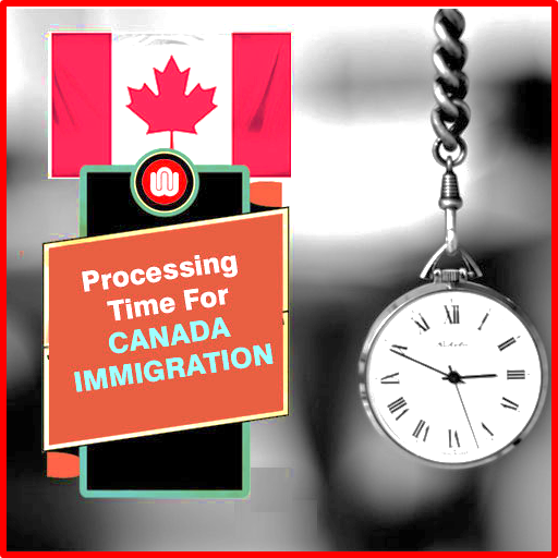 How much time does it take to land in Canada once I have been