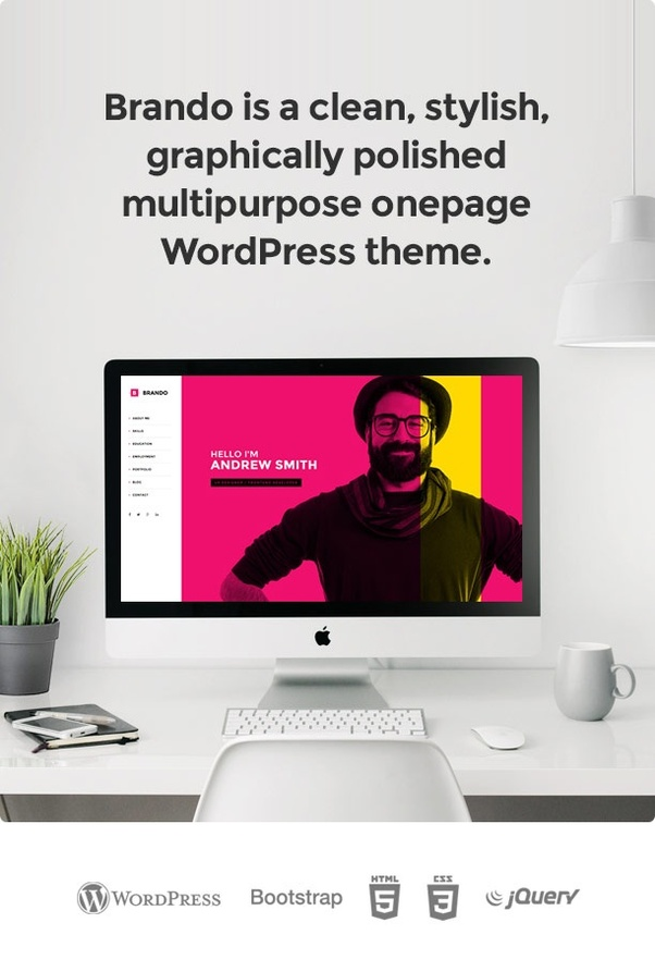 What is a free Wordpress theme with a good sticky header? - Quora