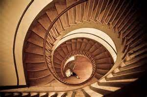 A Spiral Staircase Takes Up Less Space Than A Convention Staircase.