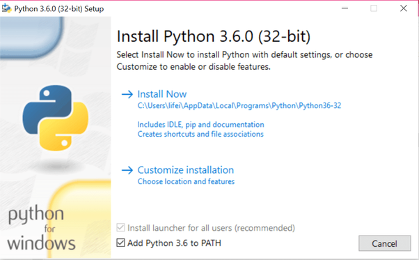What is the best way to install Python on a Windows 10 computer? - Quora