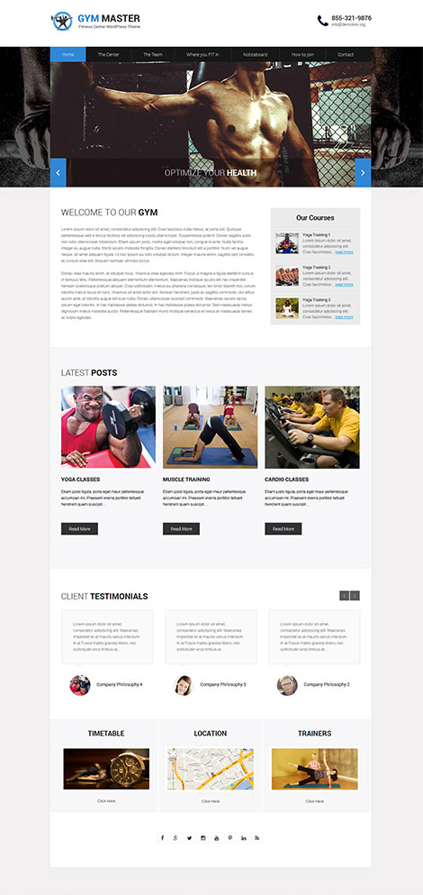 What Is The Best Wordpress Theme To Book Personal Trainers Quora