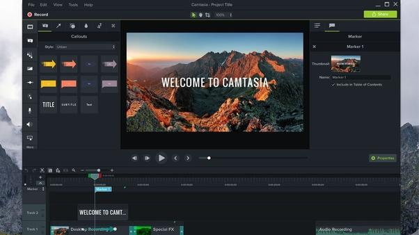 Great deals techsmith camtasia studio 7
