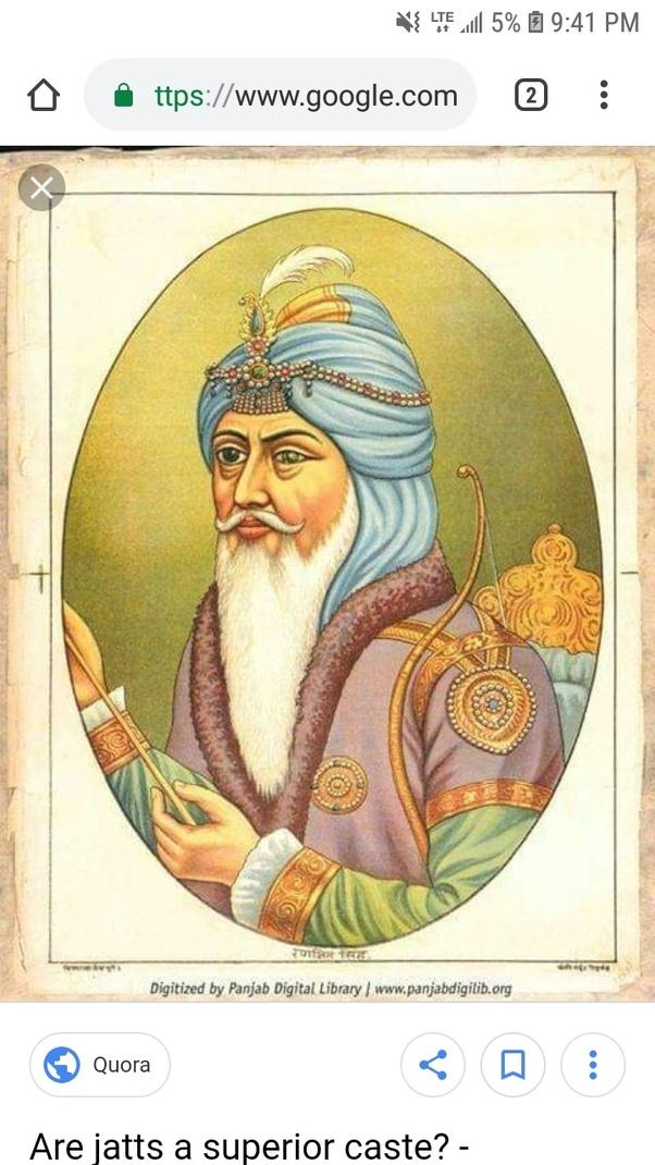 "Are Sikh Jatts, ""Vaishya"" or ""Shudra"", according to Hindu"