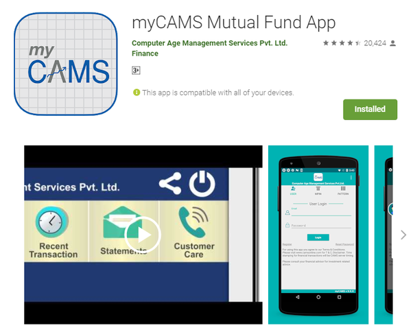 where can i track my mutual funds is there an app where i can see
