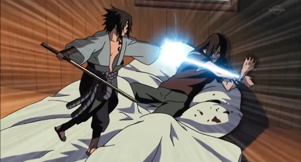 What episode does Sasuke kill Orochimaru? - Quora