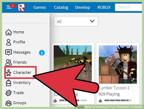 How To Change My Character On Roblox Quora