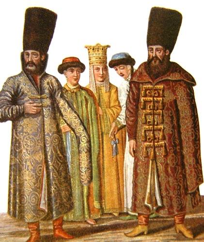 Russians aristocrats pre-imperial Russia