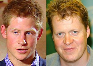 Although As Prince Harry Ages He S Starting To Look More And Like His Uncle The Earl Of Spencer