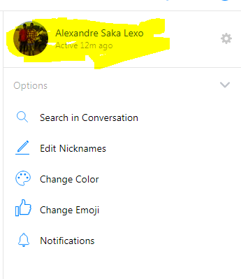 archive messages in messenger app