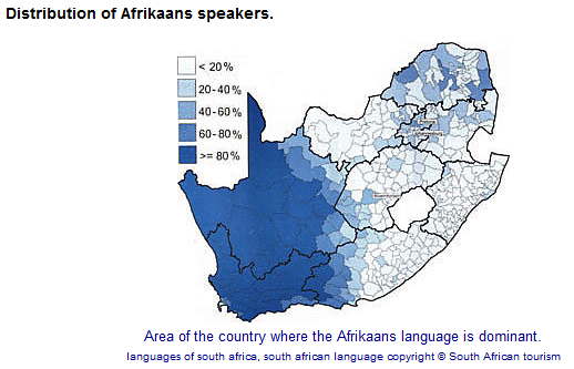 Is Afrikaans Widely Spoken In Cape Town Which South African City