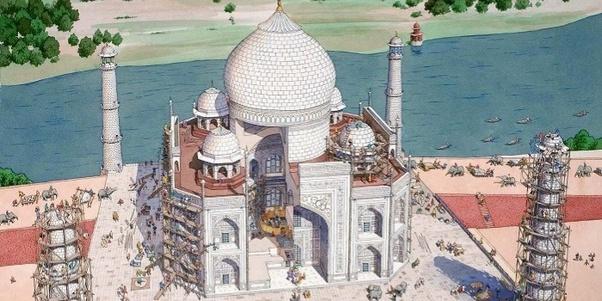 who originally built the taj mahal quora